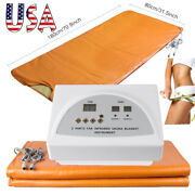Sauna Far Infrared Thermal Blanket Dry Heating Slim Spa Weight Loss Beauty Tool