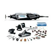 Dremel Rotary Tool Kit 1.6 Amp Corded Case 34-accessory + 4-attachments