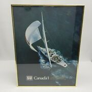 Labatts Canada 1 Americas Cup Sailing Yacht 12 Kc1 Poster Beer Advertising Boat