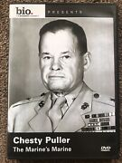 Chesty Puller The Marines Marine Dvd Bio Biography Channel