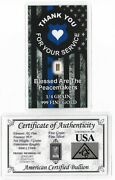 Real Fine Silver Gold Bar Lot Coa Card Collection Great Bullion Invest Gift 177