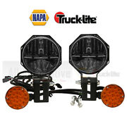 Napa Lighting By Truck-lite 80990 Snow Plow 7 In Clear Led