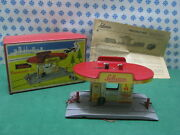 Tin Toy Schuco Varianto 3055 - Tankstelle - Made In U.s.zone W.germany 50and039