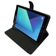New Pu Leather Smart Flip Case Cover For Samsung Galaxy Tab S3 Sm-t827r4 Verizon