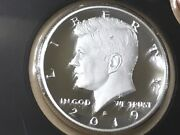 2019 S Silver Gem Proof Kennedy Half Dollar. This Is Really Nice High Grade