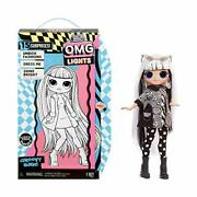Lol Surprise Omg Lights Groovy Babe Fashion Doll With 15 Surprises Accessorie...