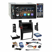 Soundstream Dvd Phonelink Stereo Dash Kit Swc Amp Harness For Cadillac Escalade