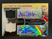 Peyton Manning Alex Smith 2005 Bowman's Best Ultimate Coverage Auto Patch /25