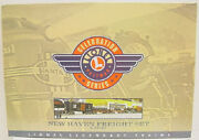 Lionel 6-21763 Pwc New Haven O Gauge Freight Car Set Ex/box