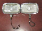 1968 Nos Shelby And Mustang Gt/cs Marchal Fog Lamps