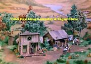 Campbell Scale Models 365 Ho Kee Ling Laundry And Cigar Store