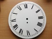 Antique Wall Clock Dial Face 12 Diam. From Clockmakers Spare Parts