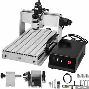 4 Axis Cnc 3040 Kit Usb 500w Router Engraving Machine For Woodwork Milling Drill