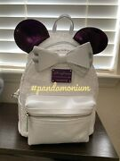 Disney Minnie Mouse Main Attraction Space Mountain Loungefly Backpack Nwt