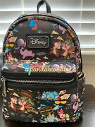 2018 Disney World Annual Passholder Ap Exclusive Loungefly Mini Backpack