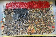 Gigantic Lot Of Vtg Buttons Huge Collection Straight Out Of Drycleaners Attic