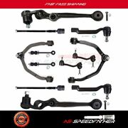 12pcs Suspension New Upper Lower Control Arm For Ford Thunderbird Mercury Cougar