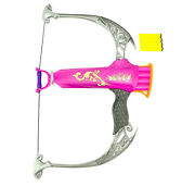 Nerf Rebelle Charmed Everfierce Bow Dart Blaster Pink Toy Hasbro Tested 30649