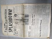 1969 Daily Star Progress Collectible Antique Newspaper