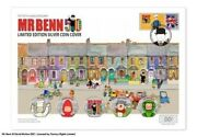 Ultimate Mr Benn Silver Proof 50p Sold Out Cover Coloured Ltd To Just 50 Worldwd