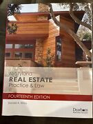 Maryland Real Estate Practice And Law By Donald A. White Excellent Condition