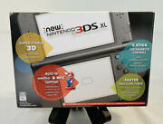 New Nintendo 3ds Xl Black System Brand New Rare Discontinued Console