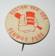 1946 Baseball Pin All Star Game Boston Red Sox Fenway Park Pinback Ted Williams