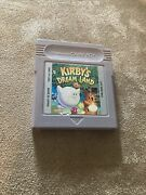 Kirbyand039s Dream Land Nintendo Game Boy 1992 Tested And Authentic