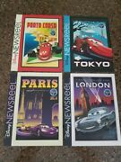 Disney Cast Exclusive Newsreel June 17 2011 Cars 2 Lot Of 4 Covers
