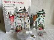 Dept 56 - North Pole - Ice Breakers Lounge - New - 808924