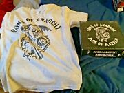 Sons Of Anarchy- Board Game- Not Complete Plus T-shirt Large Package Wear