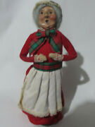 Byers Choice Victorian Woman Mrs Claus Christmas Ornaments 1990 43