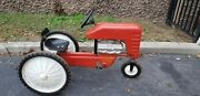 Vintage Pedal Car Tractor Go Trac Chain Drive 1950s 1960s