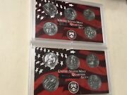 2020 And 2019 Unc Quarter 10 Coin Both Yrs Complete Set Marsh Tall Grass Mariana