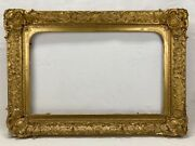 Museum 19th Century American Hudson Valley Gold Gilt Large Antique Picture Frame