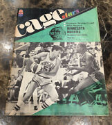 1967-68 Connie Hawkins And Pipers Vs Muskies Aba Playoff Game Program Rare-vintage