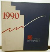 1990 Ford Salesperson Source Book Thunderbird Mustang F-series Ranger Bronco