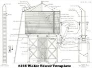 Campbell Scale Models 356-775 Ho Water Tower Kit