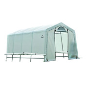 Shelterlogic Greenhouse-in-a-box 20 Ft. D X 10 Ft. W X 8 Ft. H Windows Vents