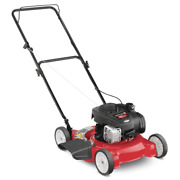 Push Lawn Mower 20 In. 125 Cc Side-discharge Stamped Engine-oil Included