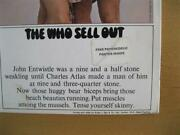 The Who Sell Out 1967 Uk Track Stereo 1st Press With Ultra Rare Stickered Sleeve