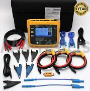 Fluke 3540 Fc Three-phase Power And Condition Monitor 10.24 Khz 3540-fc