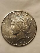 1924-s Peace Silver Dollar Choice Uncirculated, Eye Appeal, Compare Coin Details