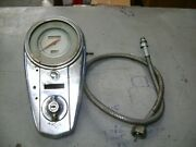 Harley Panhead 48-52 Dash Speedometer And Cable