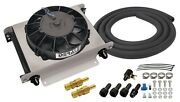 Derale 15960 Fluid Cooler And Fan Automatic Transmission - 13x10x5-5/8