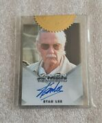X-men 3 The Last Stand 2006 Stan Lee Full Bleed Autograph Card