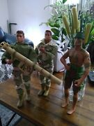 Lot Of 1 Gi Joe 12 Inch Posable Action Figures Hasbro And 2 Es Toys Lot