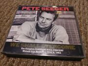 Pete Seeger We Shall Overcome 2 Cds 1989 Promo Vg+/vg+/ex