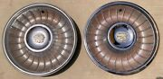 1961 Cadillac Hubcaps Two 2