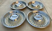 1962 Cadillac Hubcaps Four 4